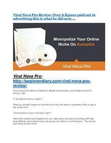 Viral Nova Pro review-- Viral Nova Pro (SECRET) bonuses