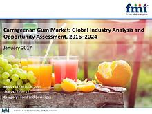 Global Carrageenan Gum Market to Soar at Moderate CAGR of 4.3%, 2024