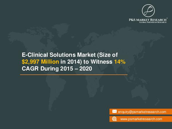 eClinical Solutions Market Analysis, Size and Future Scope eClinical Solutions Market