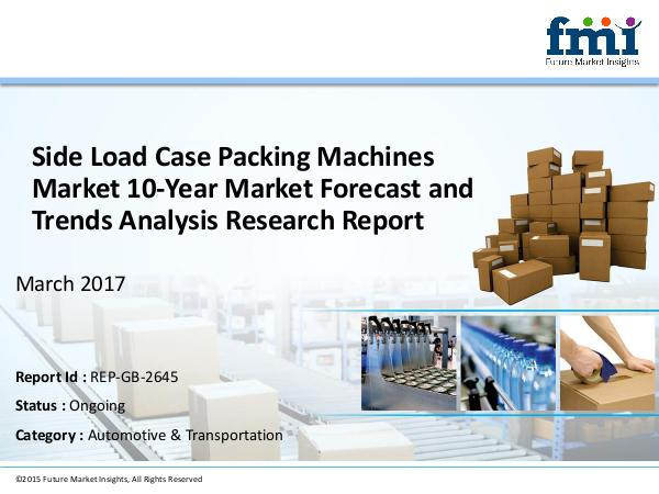FMI Research Report and Overview on Side Load Case Pac