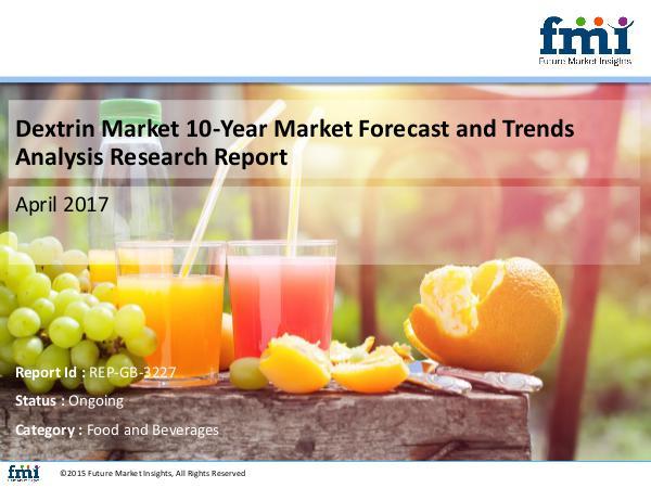 FMI Dextrin Market Growth and Forecast 2017-2027