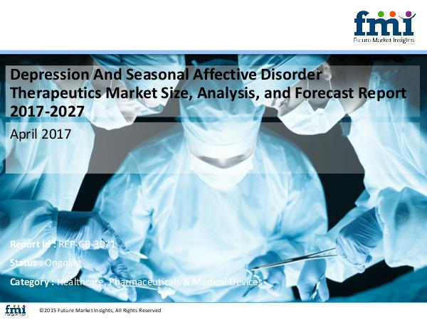 FMI Research Offers 10-Year Forecast on Depression And