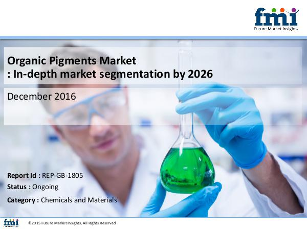 FMI Organic Pigments Market Analysis and Value Forecas