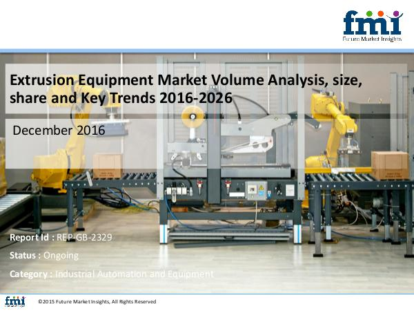 FMI Forecast On Extrusion Equipment Market Global Indu