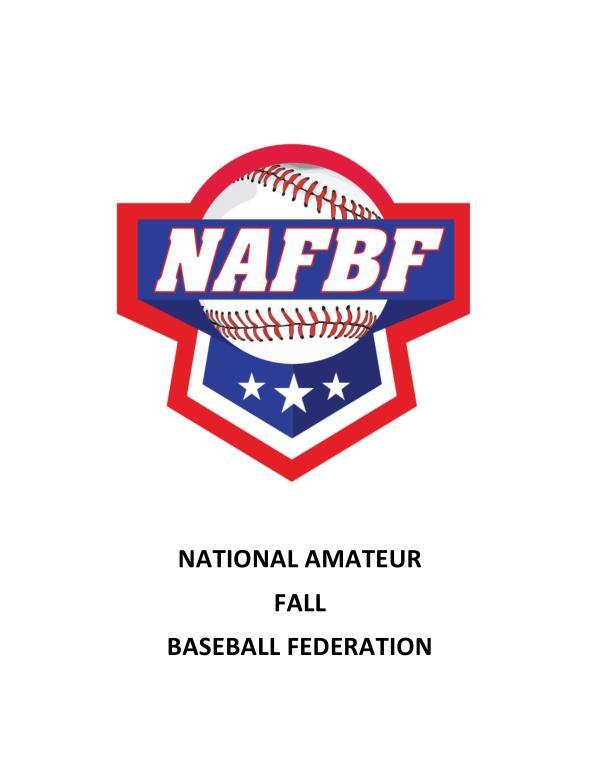NAFBF Newsletter - 1 Volume 1