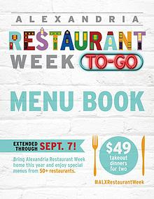 Alexandria Restaurant Week To-Go