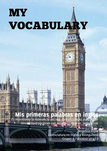 My Vocabulary