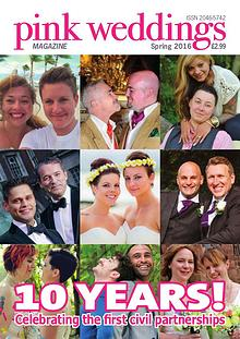 Pink Weddings Spring 2016
