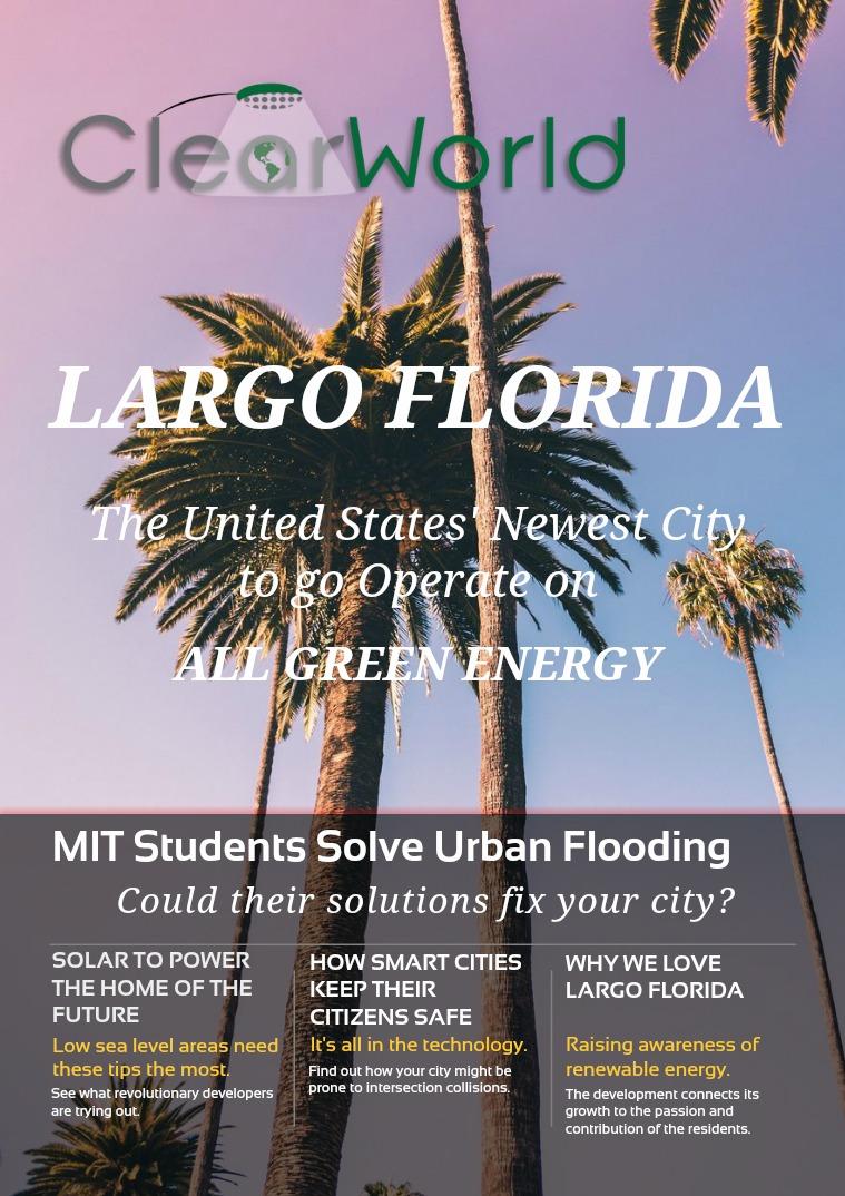 August Publication: Largo, Florida Goes Green