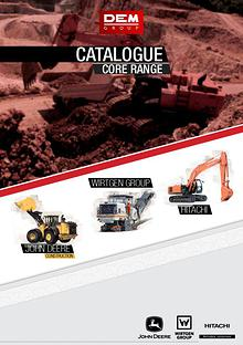 Catalogue - Gamme principale