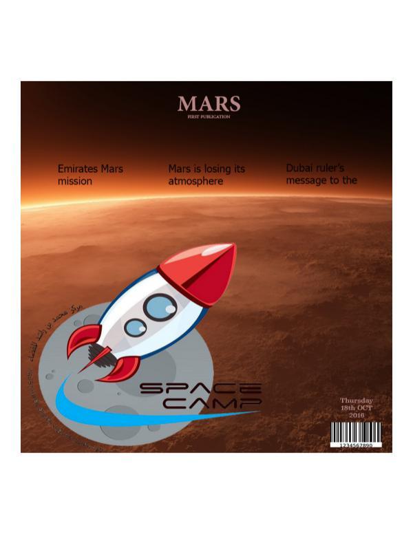 Test Drive Emirates mars mission