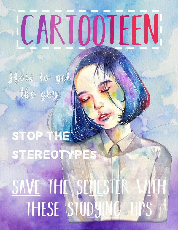 Cartooteen save the semester with these studying tips