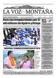 Periódico - La Voz de la Montaña
