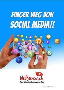 Finger weg von Social Media