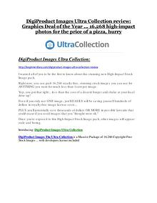 DigiProduct Images The Ultra Collection Review and DigiProduct Images The Ultra Collection (EXCLUSIVE) bonuses pack