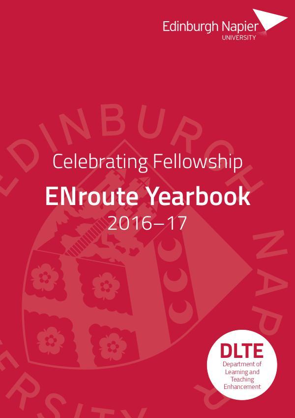 Edinburgh Napier University: ENroute Yearbook 2017 Edition