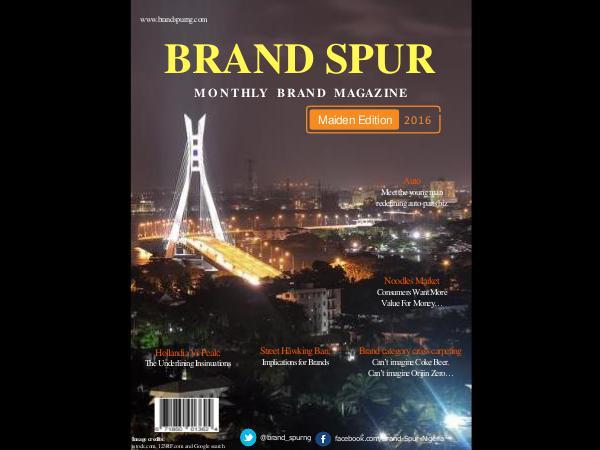 Brand Spur Volume 1 - Maiden Edition
