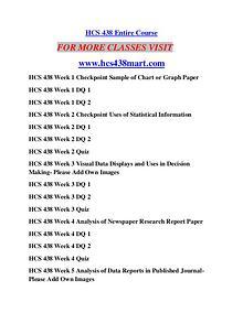 HCS 438 MART Education Terms/hcs438mart.com