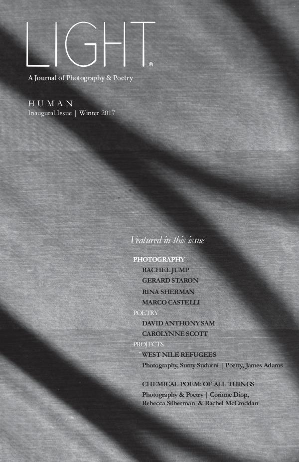 Light - A Journal of Photography & Poetry 01 | Human