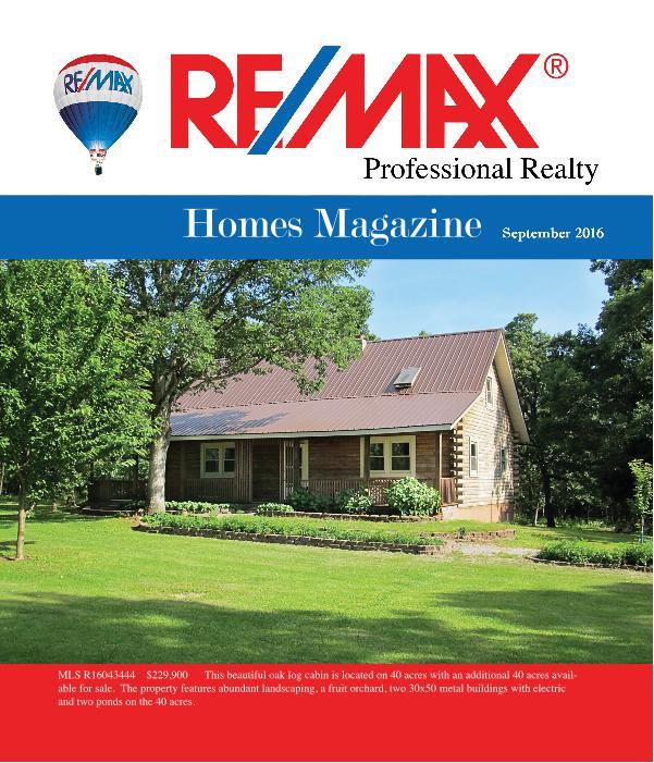 Fort Leonard Wood area Homes Magazine September Issue