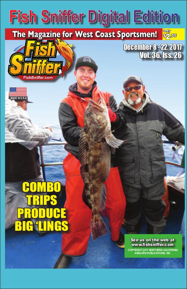 Fish Sniffer On Demand Digital Edition Issue 3626 Dec 8- 22 2017