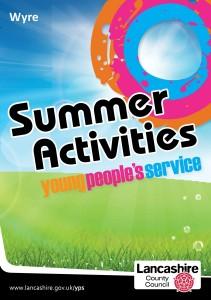 Summer Activities 2013 Wyre