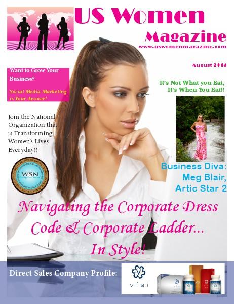 US Women Magazine August 2014 Vol 1 Issue 1