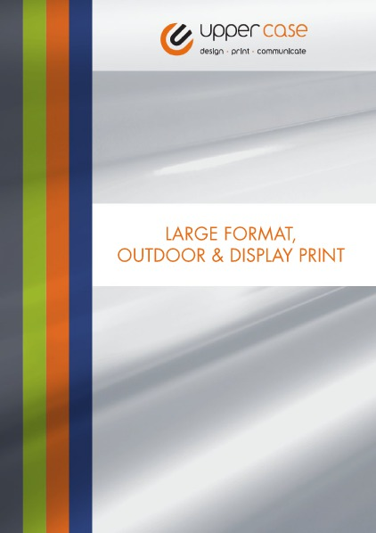 Large Format, Outdoor & Display Print 1
