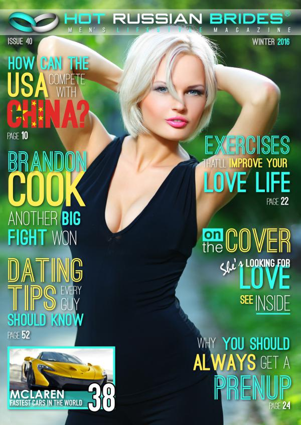 Hot Russian Brides® Men's Lifestyle Magazine™ Winter 2017