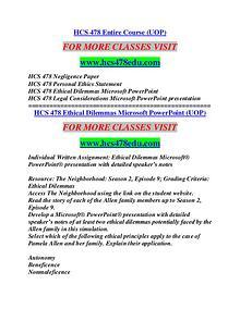 HCS 478 EDU Education Terms/hcs478edu.com