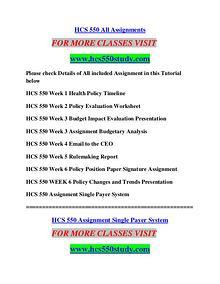 HCS 550 STUDY Education Terms/hcs550study.com