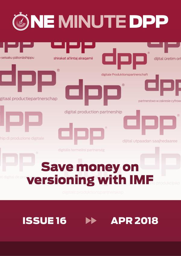 One Minute DPP - NonMembers Edition Apr 2018 Issue 16