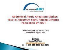 Abdominal Aortic Aneurysm Treatment Market
