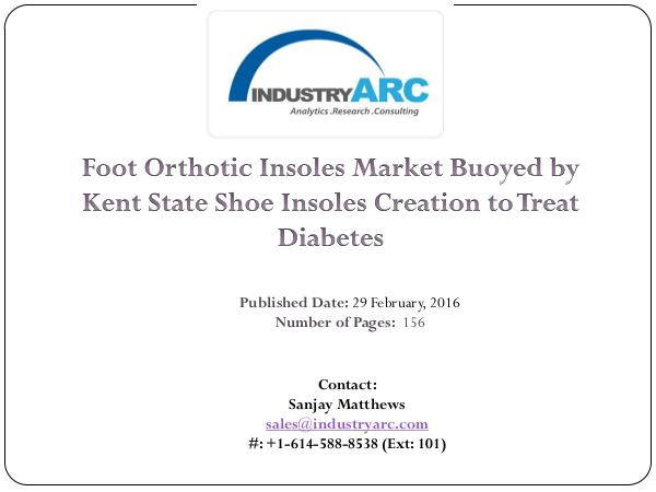 Foot Orthotic Insoles Market | IndustryARC Foot Orthotic Insoles Market Predicts the Sports