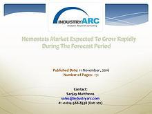 Hemostats Market Analysis   IndustryARC