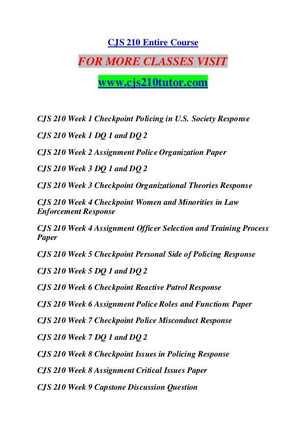CJA 210 TUTOR Future Starts Here/cja210tutor.com CJA 210 TUTOR Future Starts Here/cja210tutor.com
