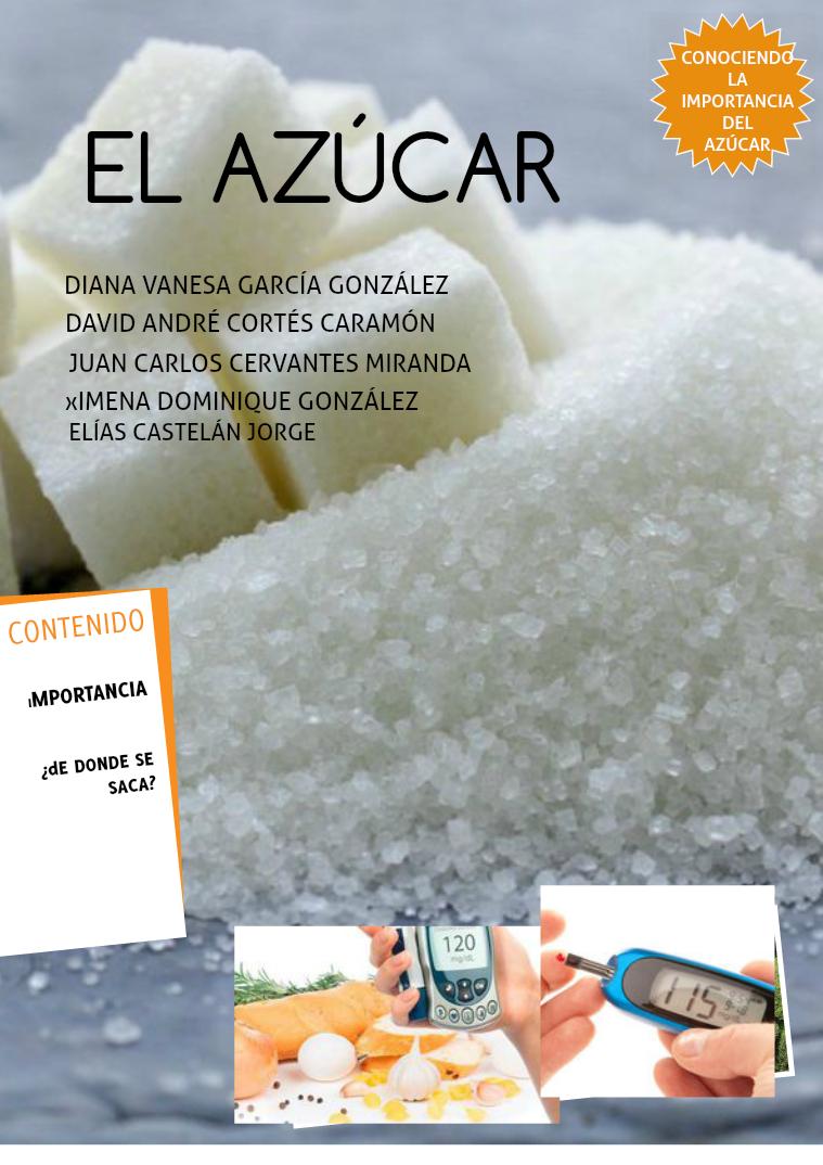 El azúcar Glucosa