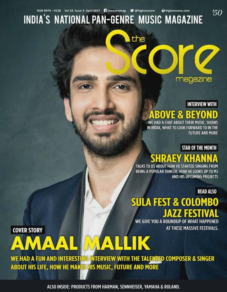 The Score Magazine - Archive April 2017