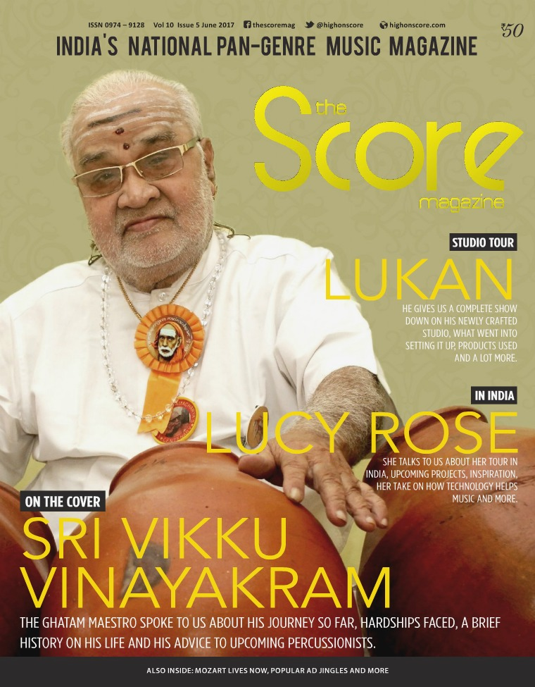 The Score Magazine June 2017 issue