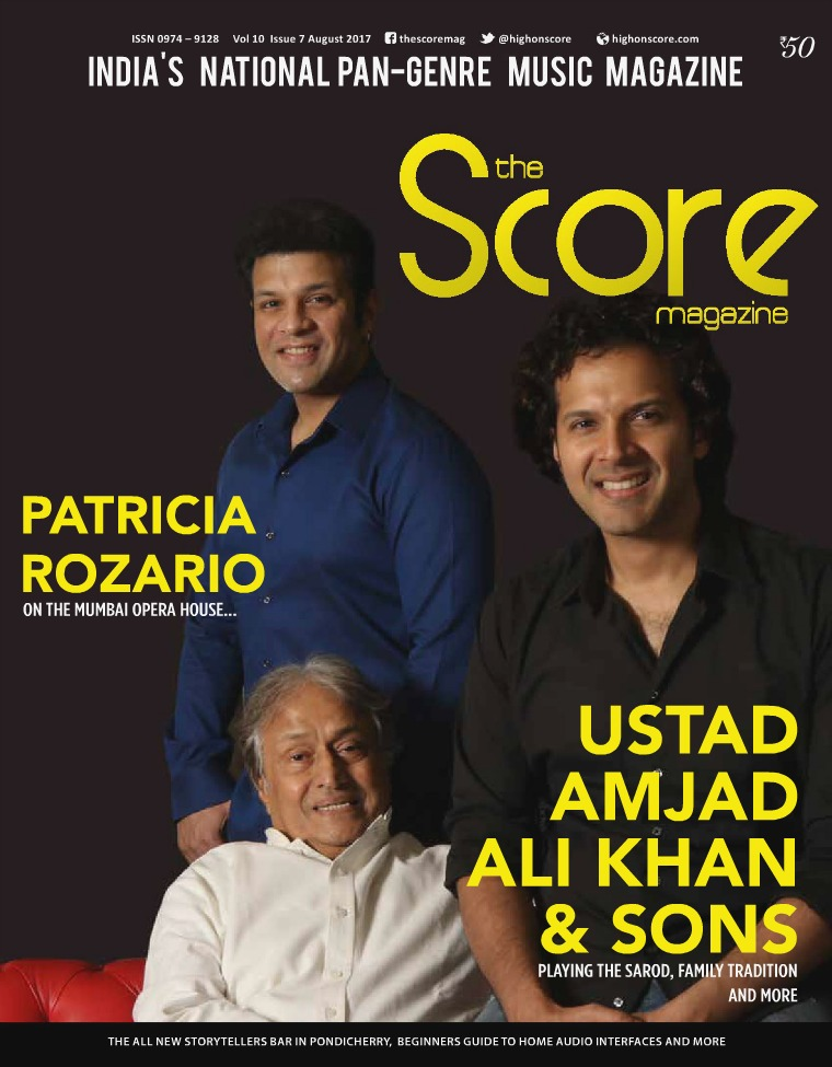 The Score Magazine August 2017 Issue