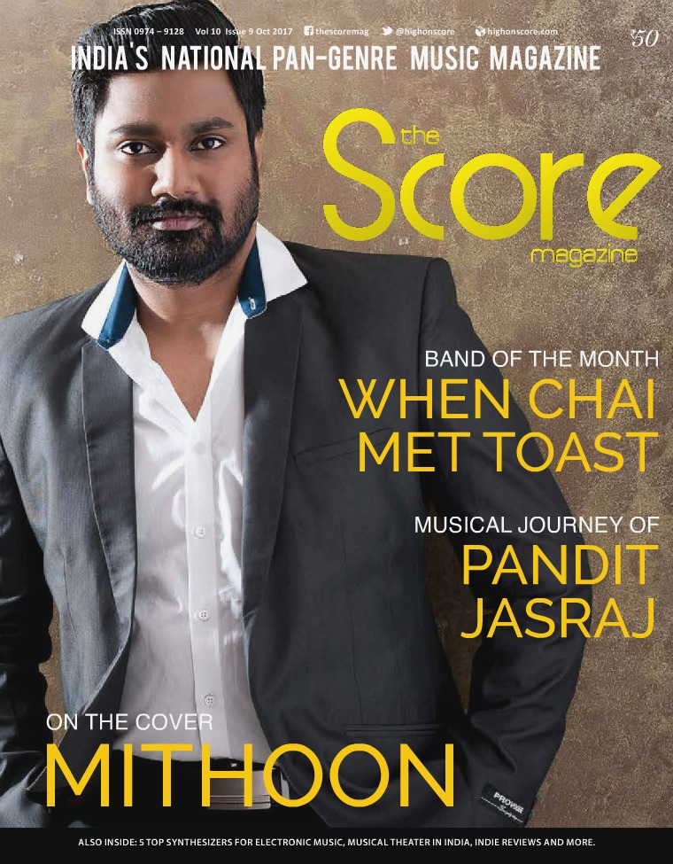 The Score Magazine October 2017 issue!