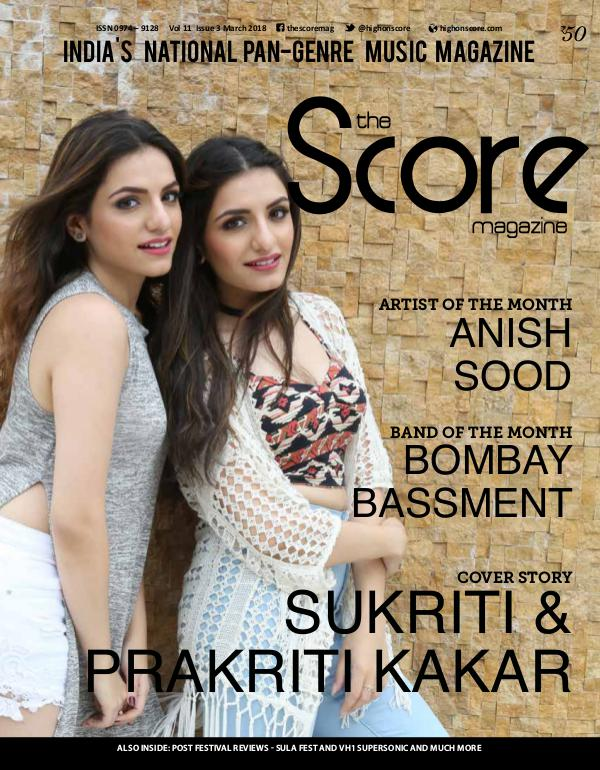 The Score Magazine March 2018 issue!
