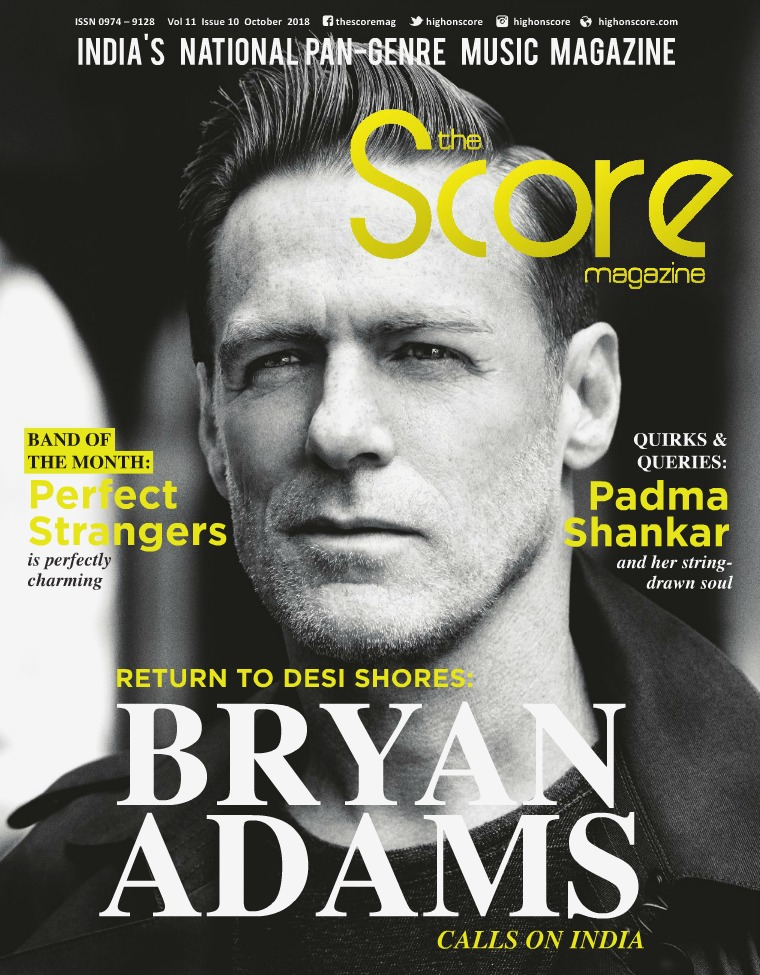 The Score Magazine October 2018 issue!