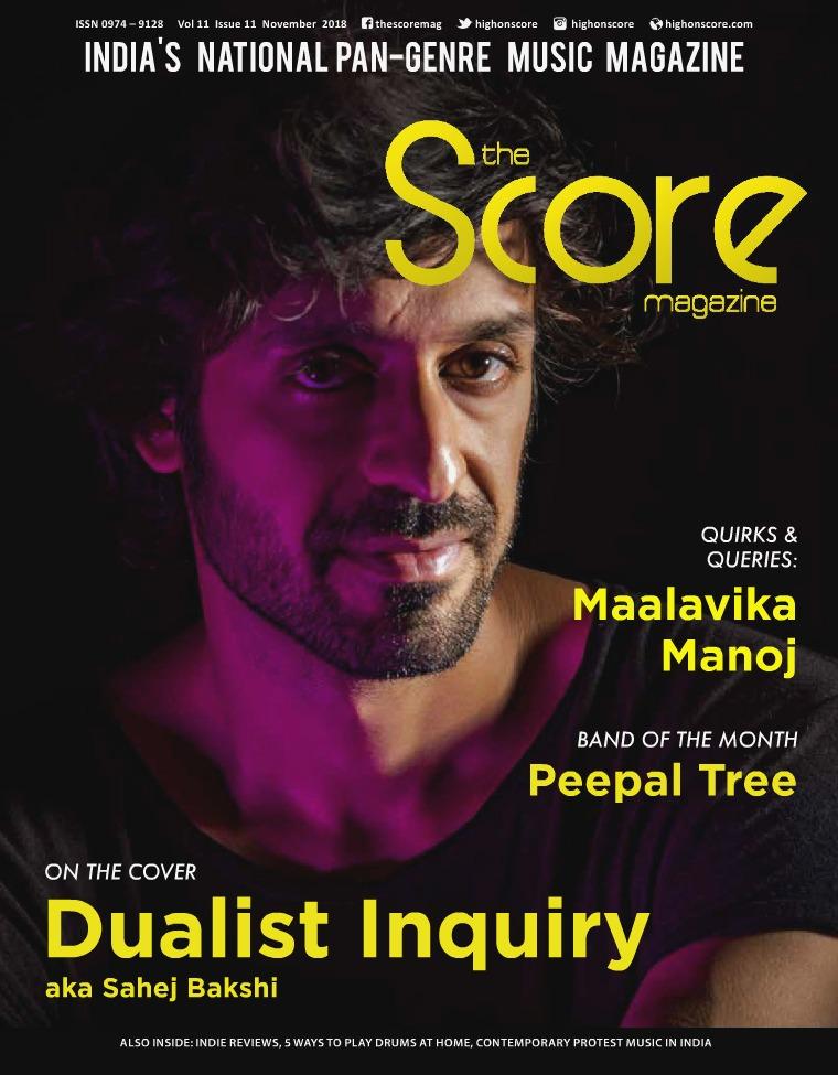 November 2018 issue!