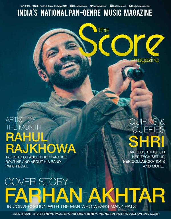 The Score Magazine May 2019 issue