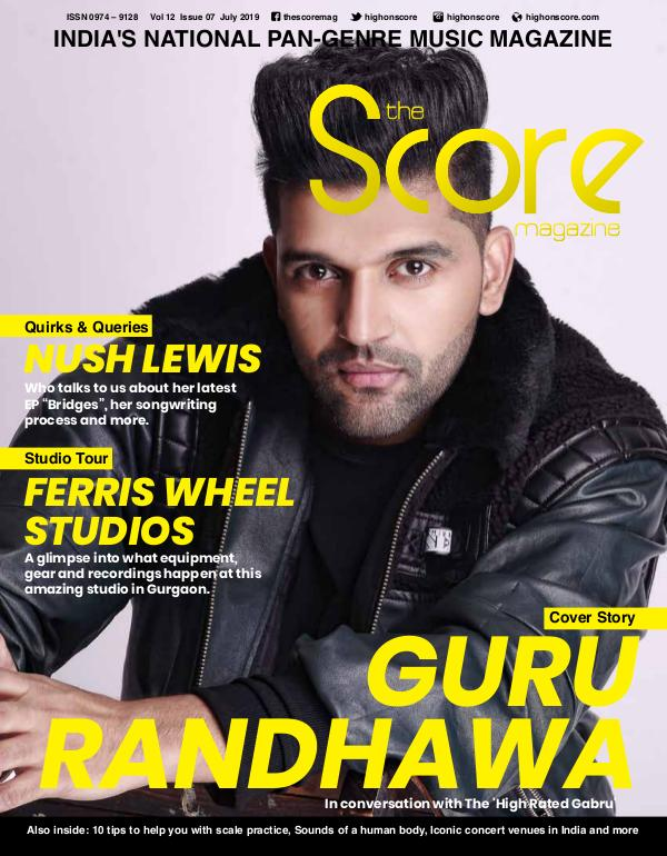 The Score Magazine July 2019 issue