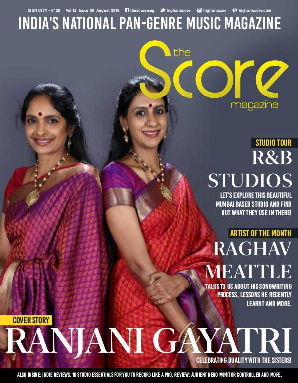 The Score Magazine August 2019 issue!