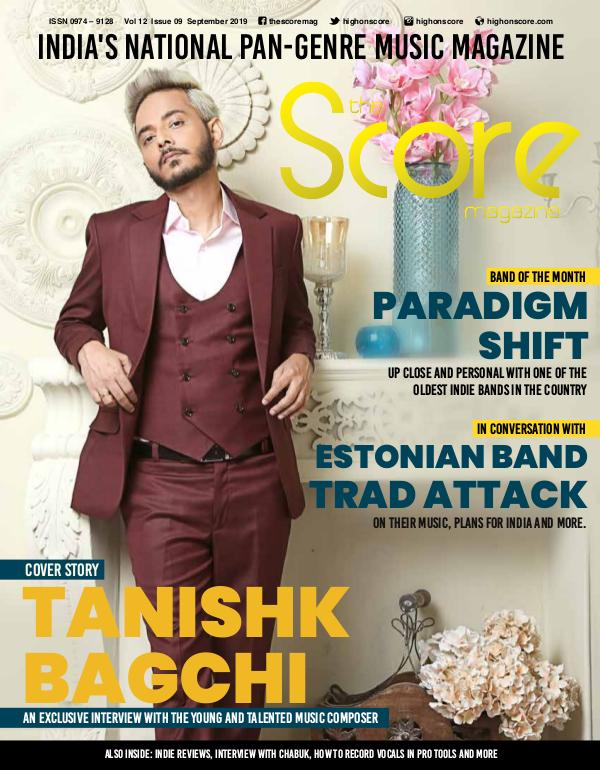 The Score Magazine Sept 2019