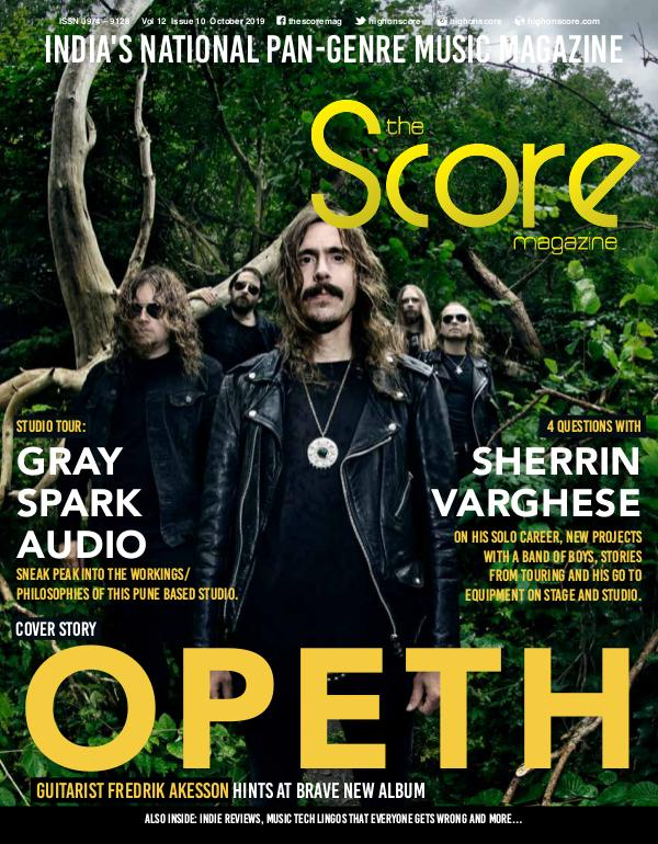 The Score Magazine October 2019