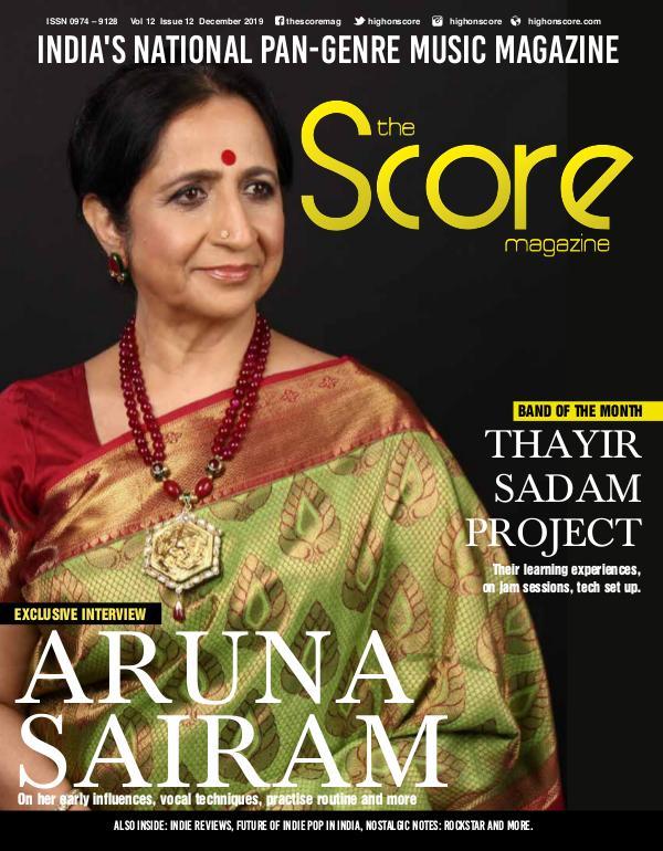 The Score Magazine December 2019 issue